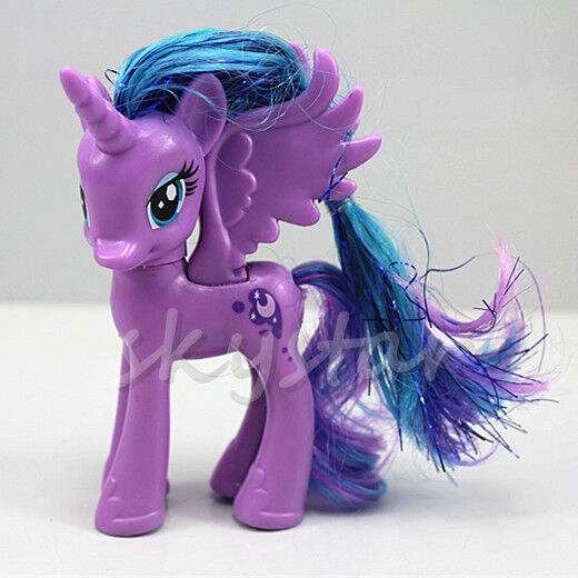 My Little Pony Friendship Princess Luna Purple 12CM Action ...