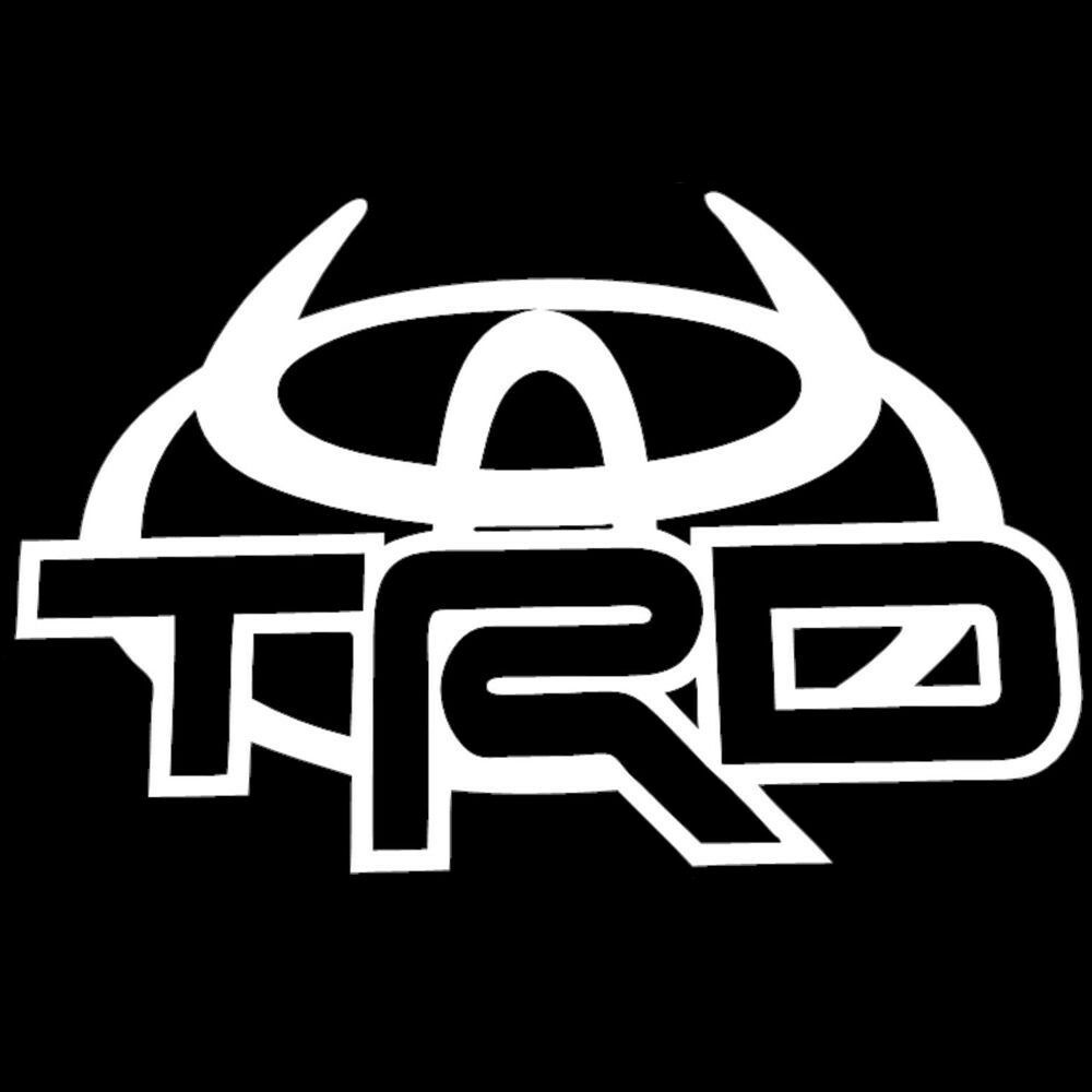 Toyota Trd Devil Car Truck Decal Sticker Large 10