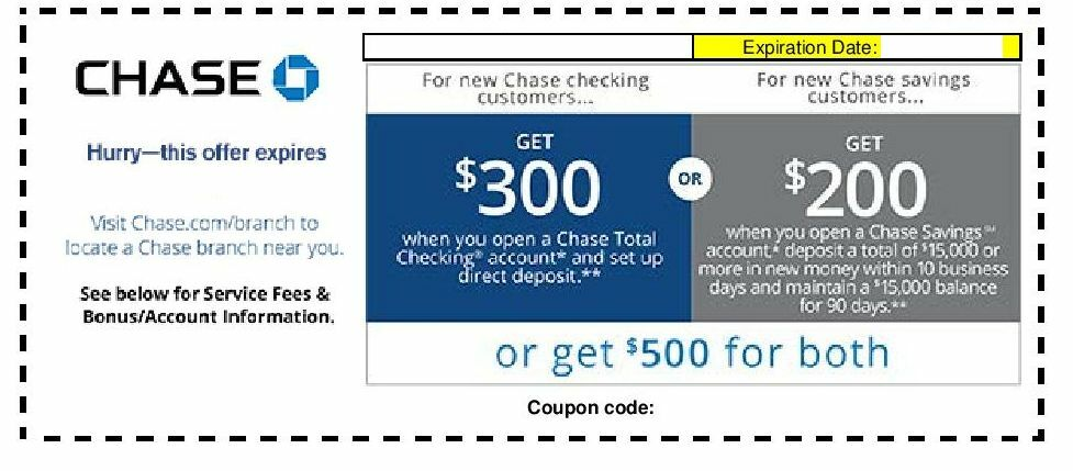 Free Resume Format » chase checking account requirements | Resume Format