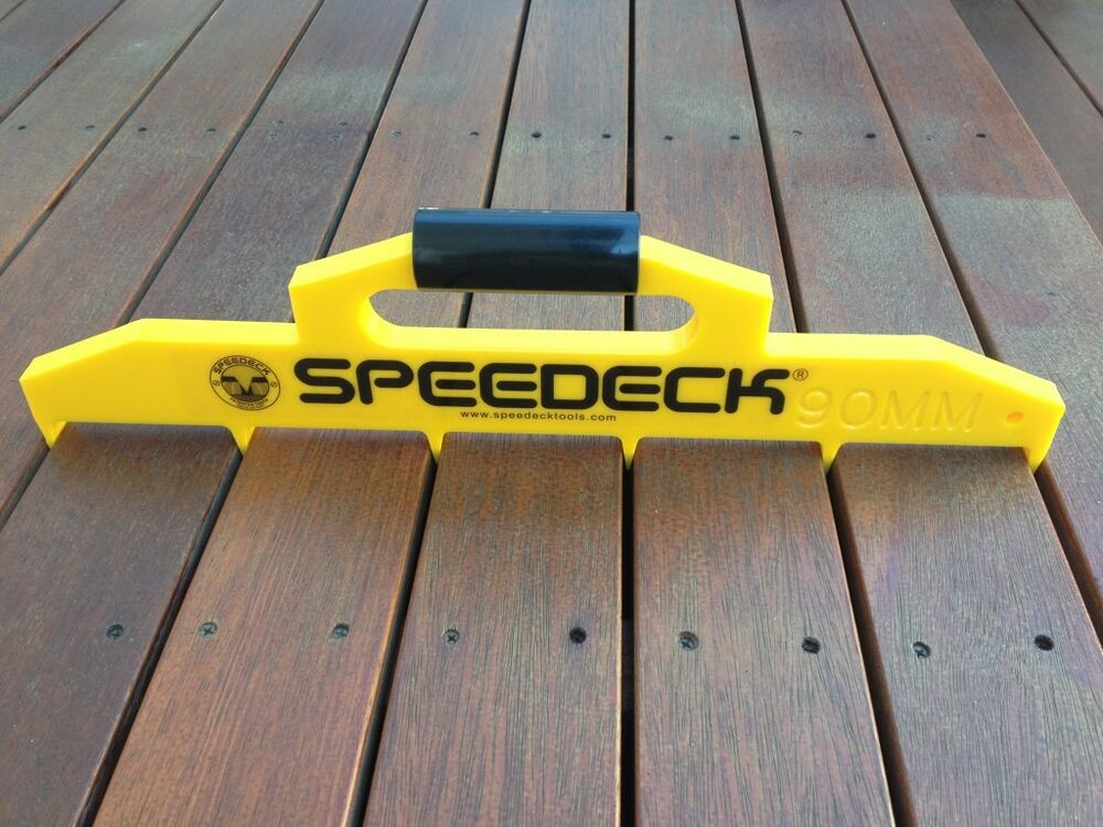 Bowrench Deck Tool ~ Speedeck decking spacing gauge pro tool various sizes ebay