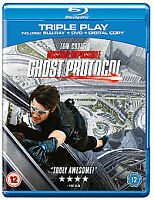 Mission Impossible: Ghost Protocol (Blu-ray + DVD + Digital Copy) New & Sealed