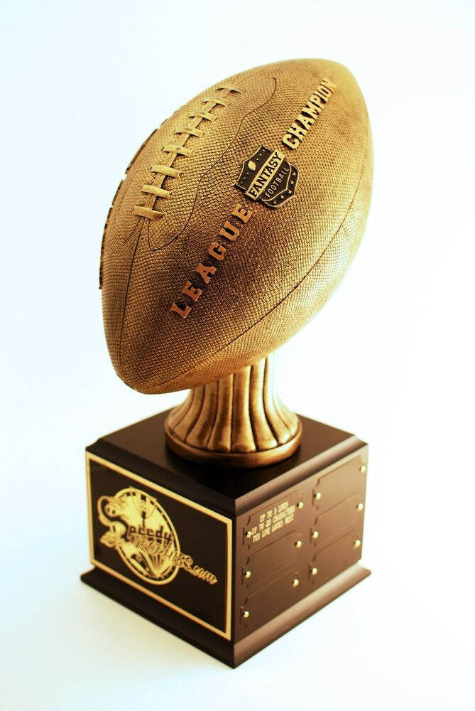 Fantasy Football Trophy 12 Year Perpetual Free Engraving