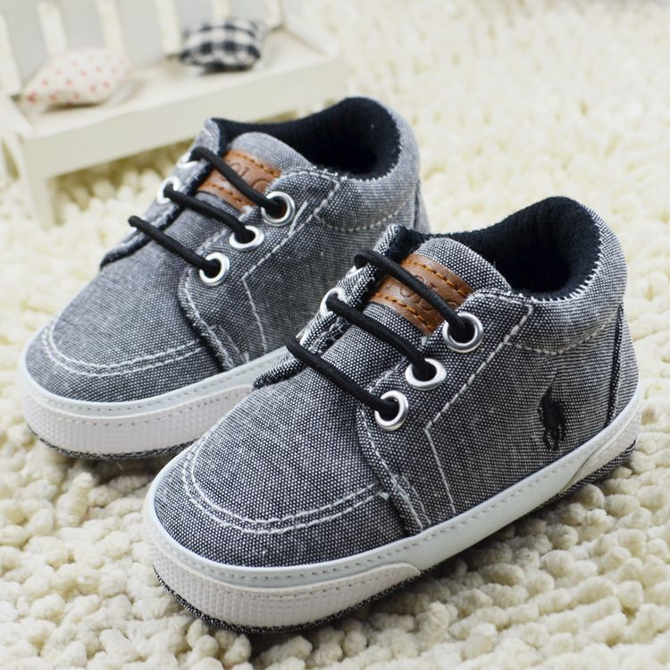 Baby Toddler infant boy Girl Soft Sole fashion prewalker ...