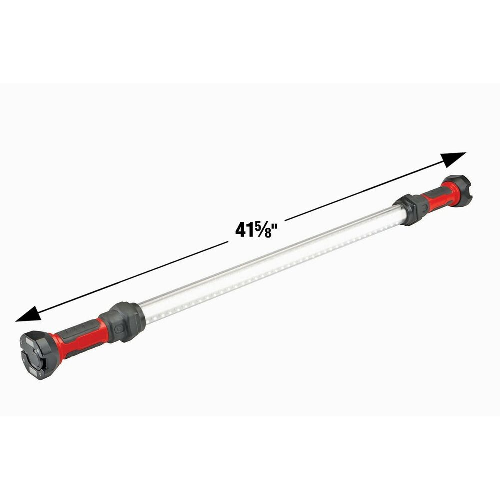 BRIGHT WHITE CORDLESS RECHARGEABLE WORK LIGHT 120 LED BAR