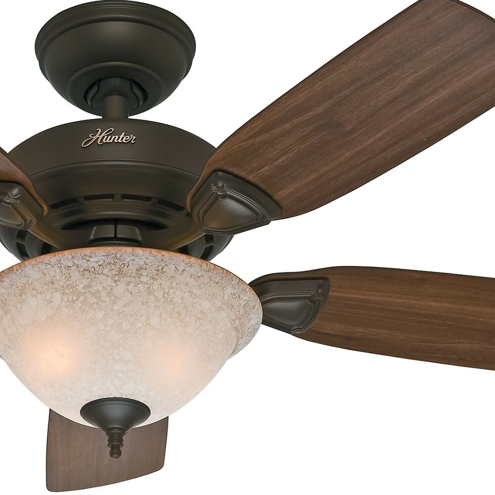 Ceiling Fan Blades : Hunter quot new bronze blade ceiling fan blades and