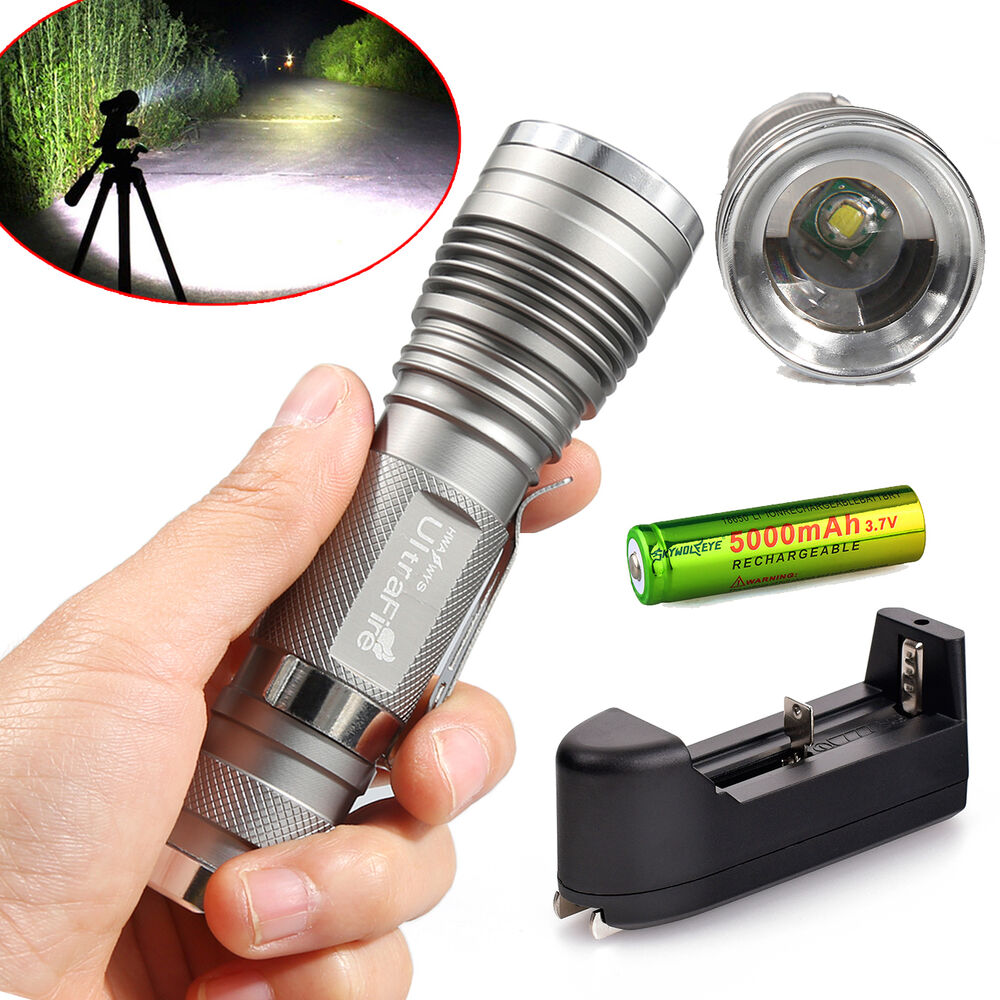 Ultrafire 10000LM CREE XML T6 LED Flashlight Torch ...