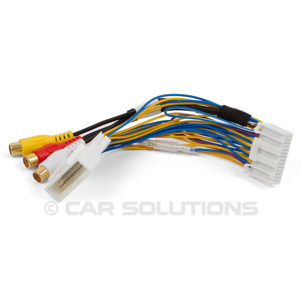 Av Video Audio Cable For Toyota Touch 2 And Entune Oem Monitors Head Microphone Wiring Diagram Units 707152596336 Ebay