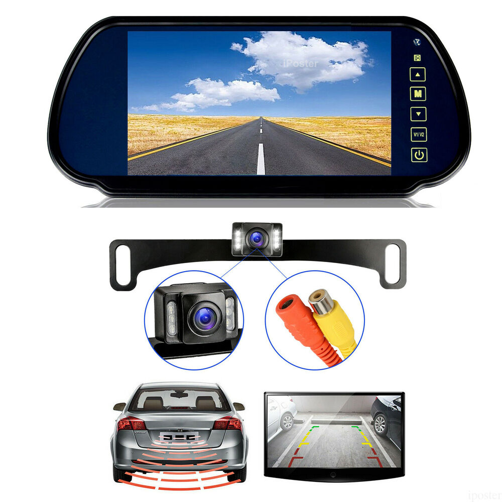 Wireless Ir Car Rear View Backup Camera 4 3 Quot Monitor For