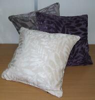 VELVET LEAVES DESIGN CUSHION COVER 45 X 45 CMS