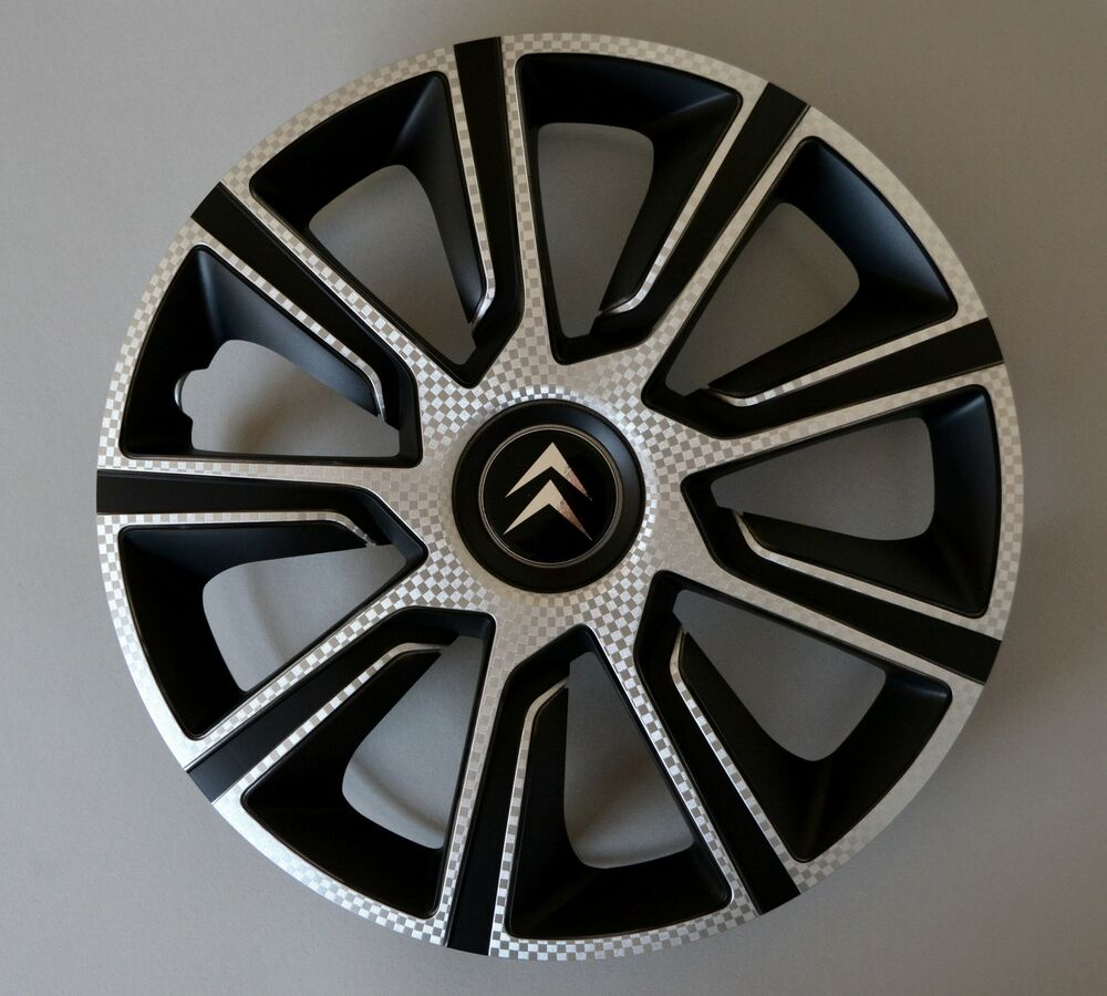 14 citroen c1 c2 c3 saxo berlingo wheel trims covers hub caps quantity 4 ebay. Black Bedroom Furniture Sets. Home Design Ideas