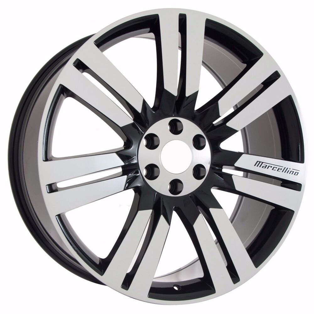 24 Inch Tractor Rim : Quot black machined face wheels for ford f lincoln