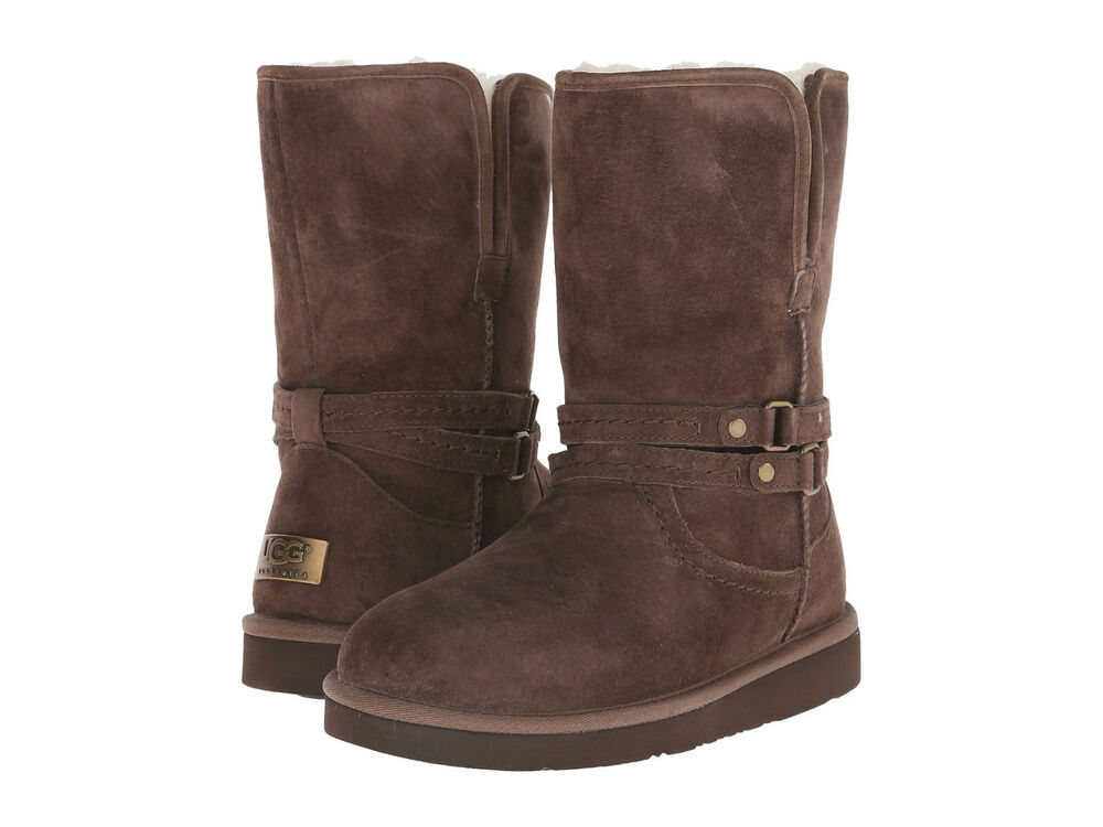 L Chocolate Brown Ankle Boot