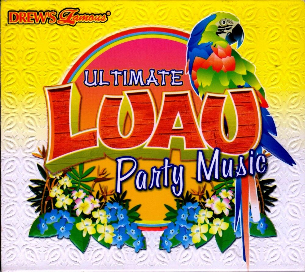 Party Island Beach: Drew's Famous ULTIMATE LUAU PARTY MUSIC SUMMER BEACH