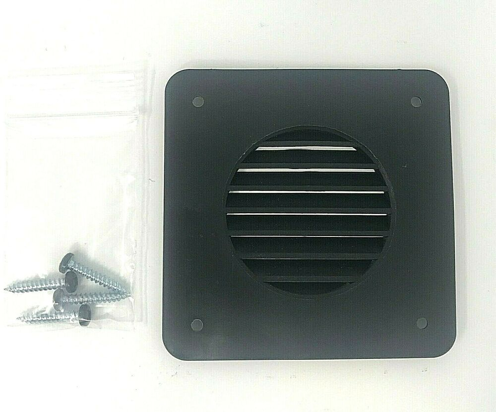 New Rv Camper Trailer Battery Box Vent Black Ebay