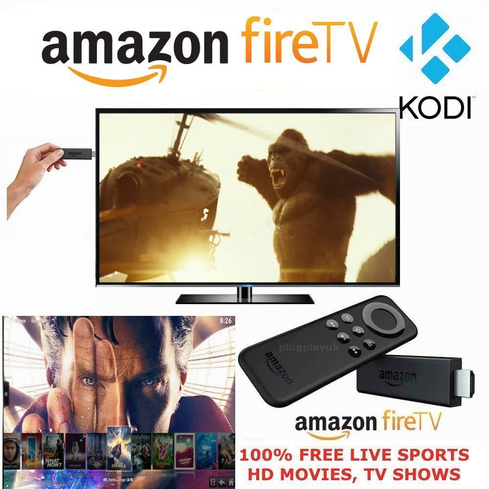 Amazon Fire Stick with Kodi 16.1 Fully-Loaded ️Sports ...