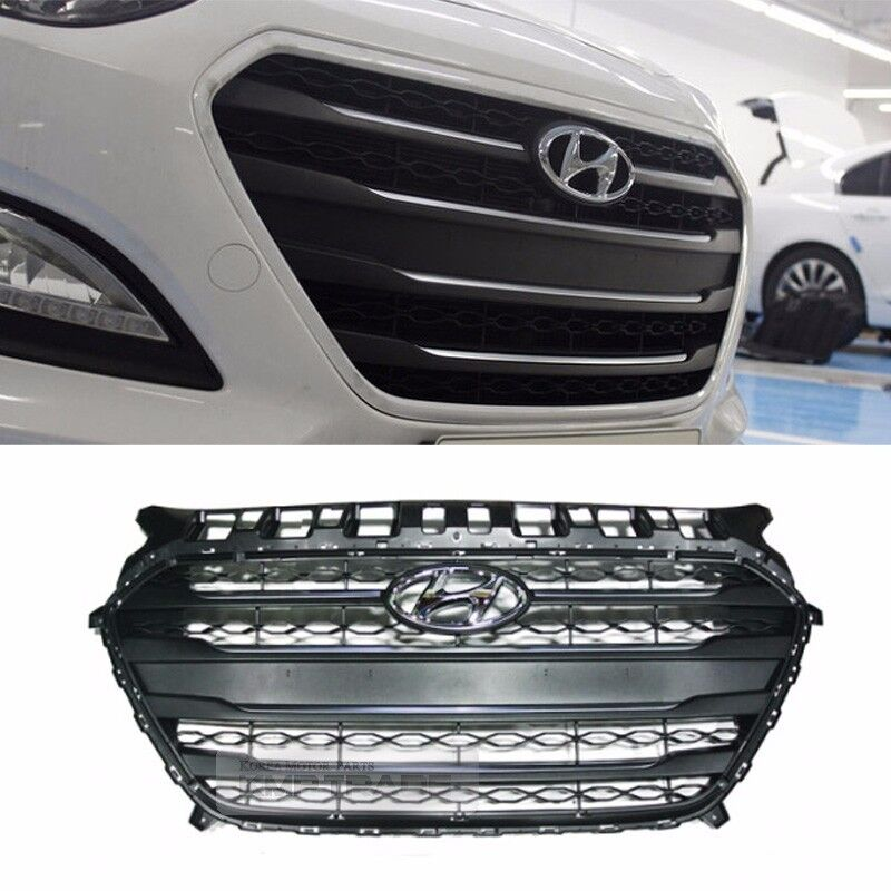 Oem Parts Front Radiator Hood Grille Cover Trim For