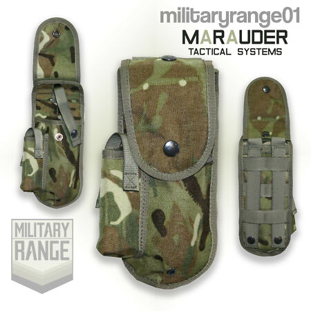 img-Marauder 9mm Browning Holster - Molle - British Army Multicam MTP - UK Made