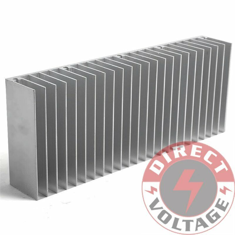 1pc 60x150x25mm silver aluminum heat sink for led and. Black Bedroom Furniture Sets. Home Design Ideas