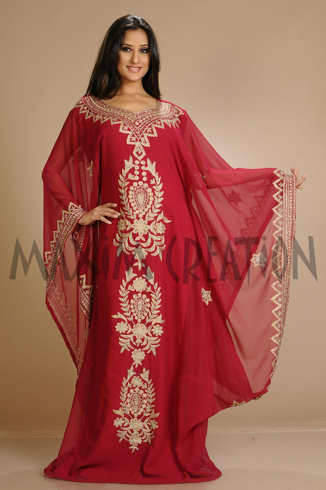 DUBAI FANCY JALABIYA MOROCCAN CAFTAN FOR WOMEN DRESS BY ...