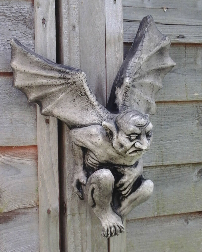 Stone garden ugly winged gargoyle gremlin devil goblin - Watch over the garden wall online free ...