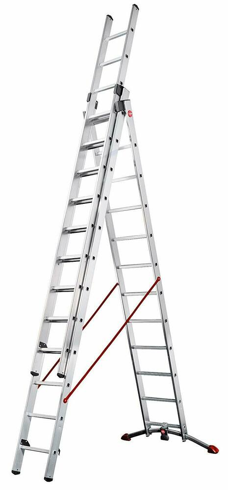 Hailo Trade Combi Ladders With Adjustable Stabiliser