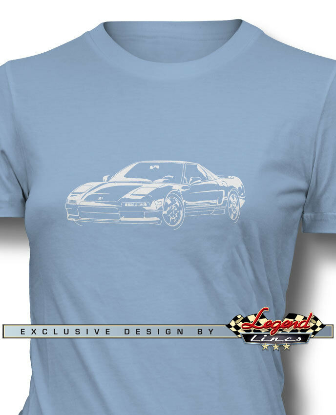 """Acura NSX 1990 """"3/4 Front"""" T-Shirt For Women"""
