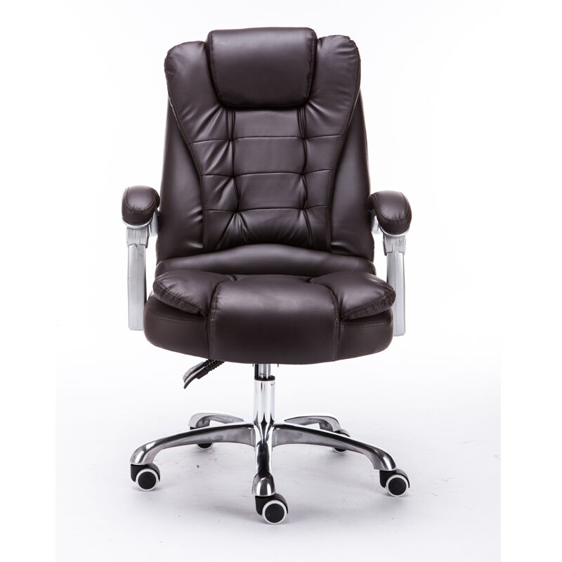 New Used Pilates Chair For Sale: New Sale Brown Executive High Back Premium PU Thick