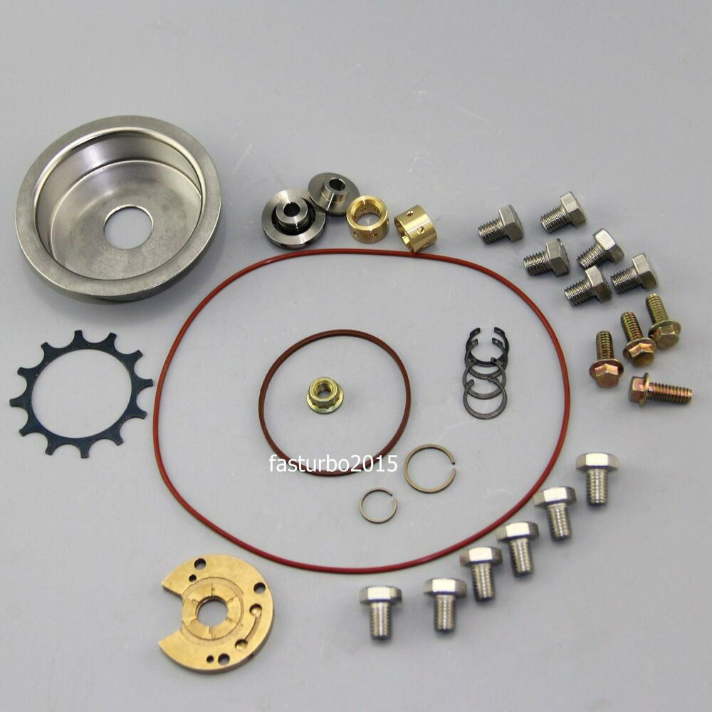 Garrett Turbocharger Rebuild Kits: New Turbo Repair Rebuild Kits T3/T4 T04E TO4E Upgrade 360