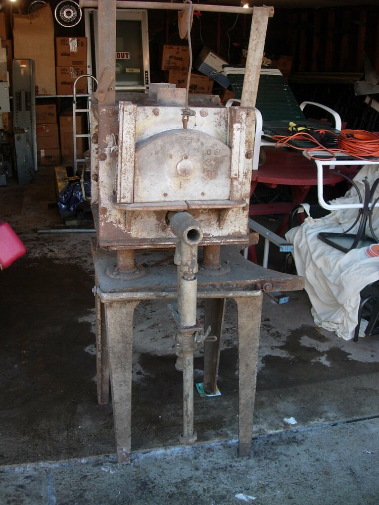 Vintage Heat Treat Furnace From A Tool And Die Shop Used