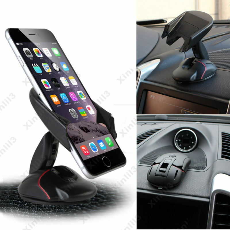 360°Universal Car Mount Holder Stand Cradle For Navigation ...