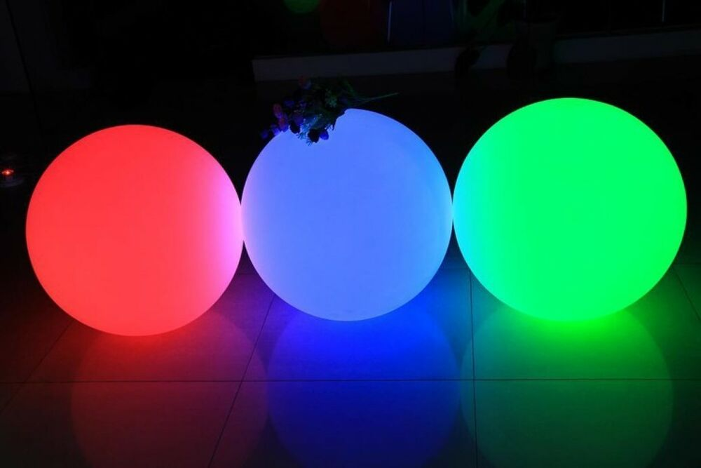 25cm swimming pool ball floating light waterproof. Black Bedroom Furniture Sets. Home Design Ideas