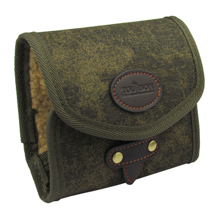 Tourbon fly fishing wallets pouch flies patch case bag for Fly fishing bag