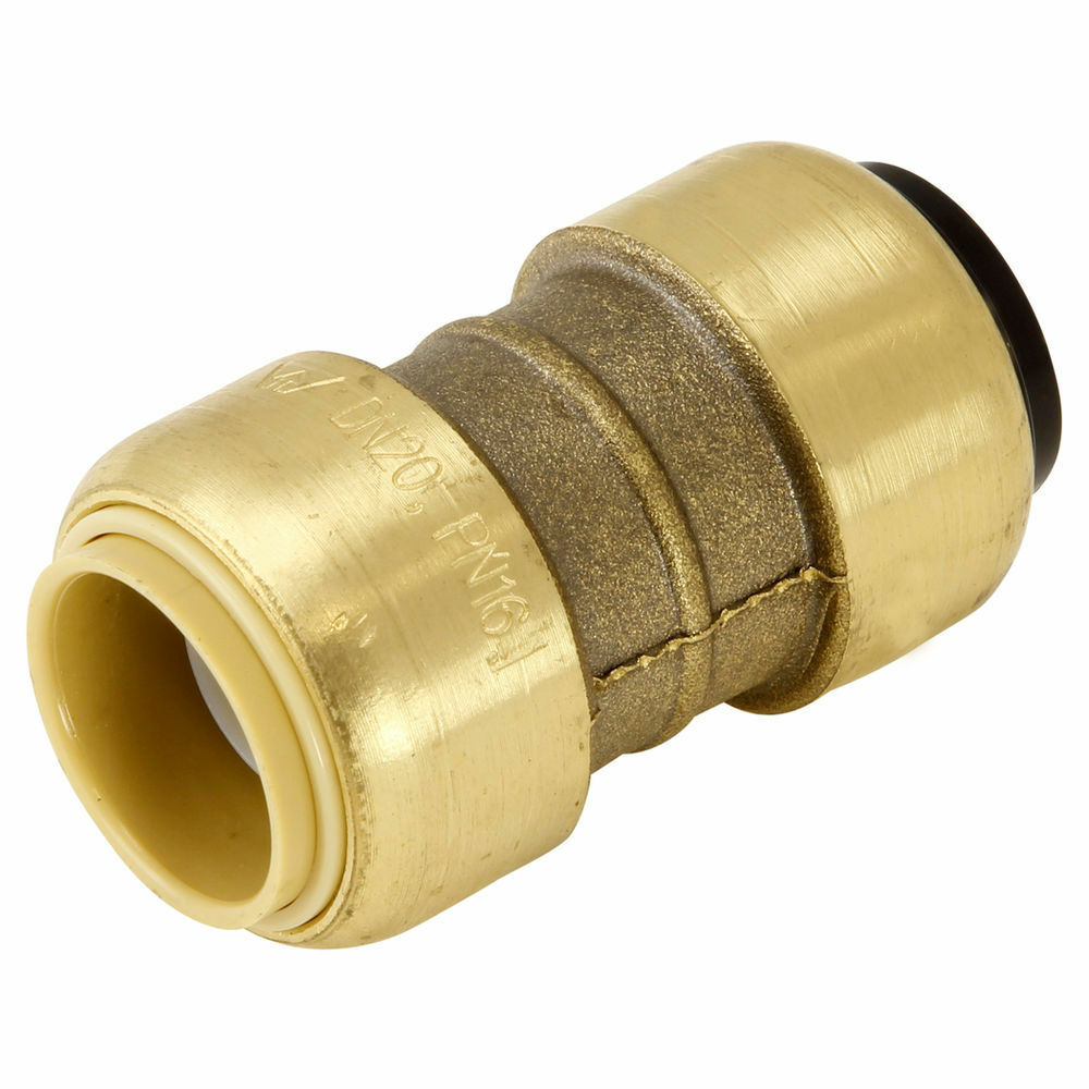 Sharkbite 3 4 copper conversion coupling 20mm push for Pex pipe vs copper