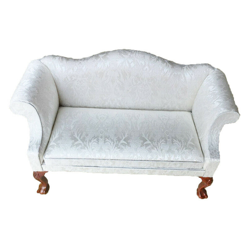 1 6 Dollhouse Furniture Couch Sofa Armchair With Carved