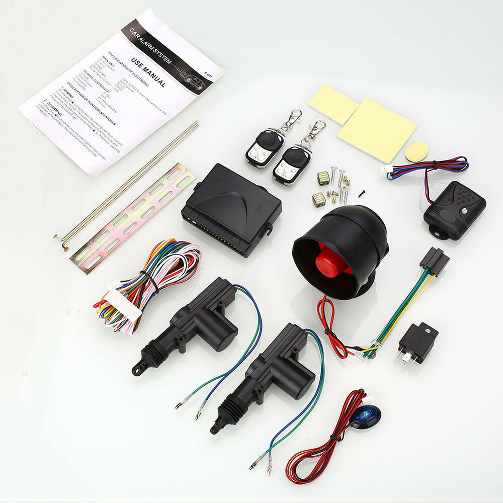 Car Locking System 2 Wire Automatic Power Door Lock ...
