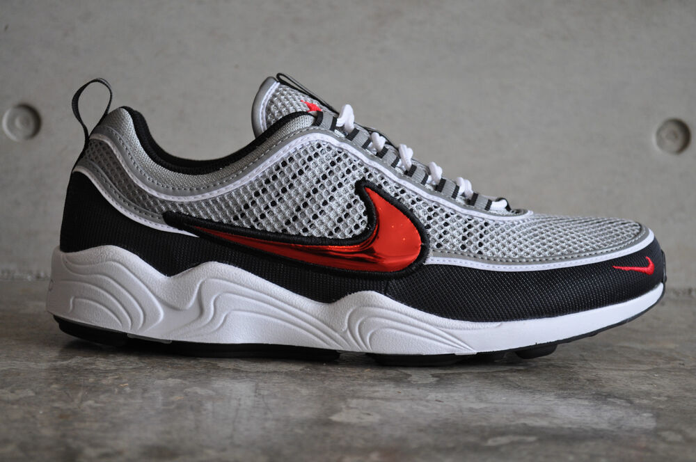 nike air zoom spiridon og 2016 black sport red ebay. Black Bedroom Furniture Sets. Home Design Ideas
