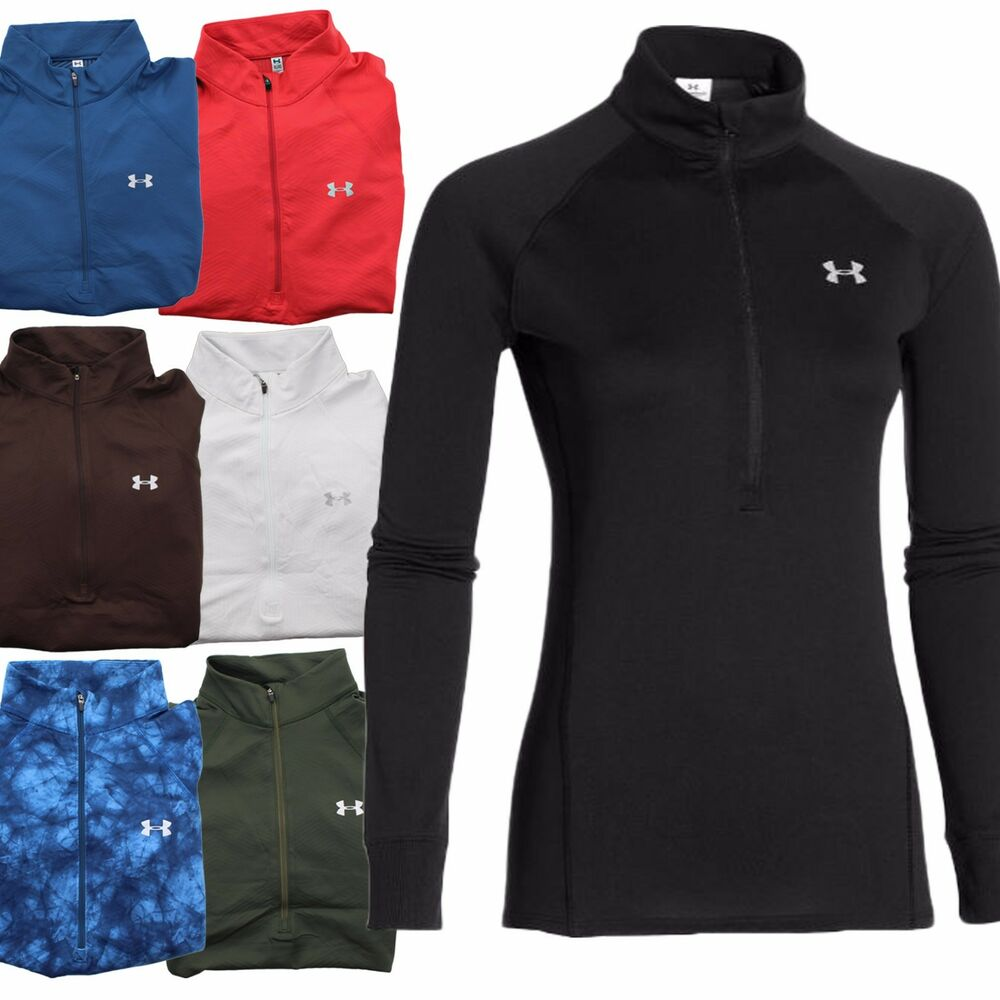 under armour tech fitted women 39 s coldgear infrared 1 2 zip. Black Bedroom Furniture Sets. Home Design Ideas