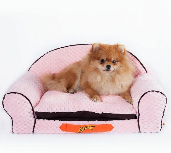 New princess prince soft pet dog cat sofa bed house mat Dog house sofa