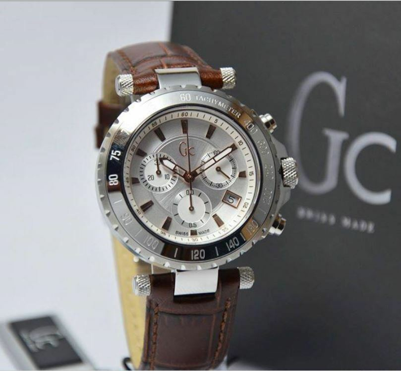 Authentic Luxury Guess Collection Gc Diver Chic X58005g1s ...