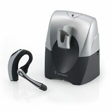 NEW Plantronics Voyager 510S Bluetooth MultiPoint Wireless Headset Office System