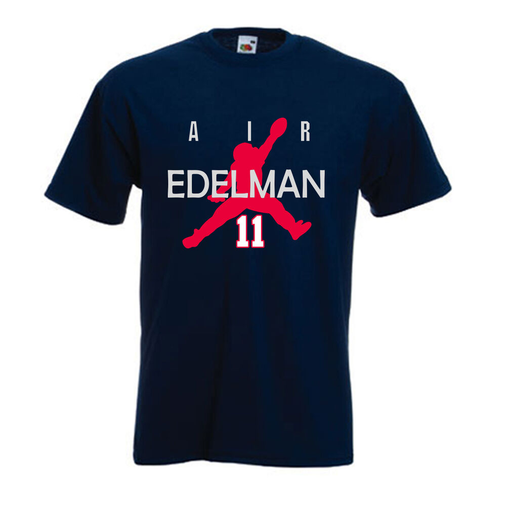 Julian edelman new england patriots air edelman jersey t New england patriots shirts