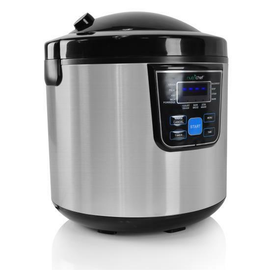 Nutrichef pkmrc46 multi cooker rice cooker multifunction for Multi cooker