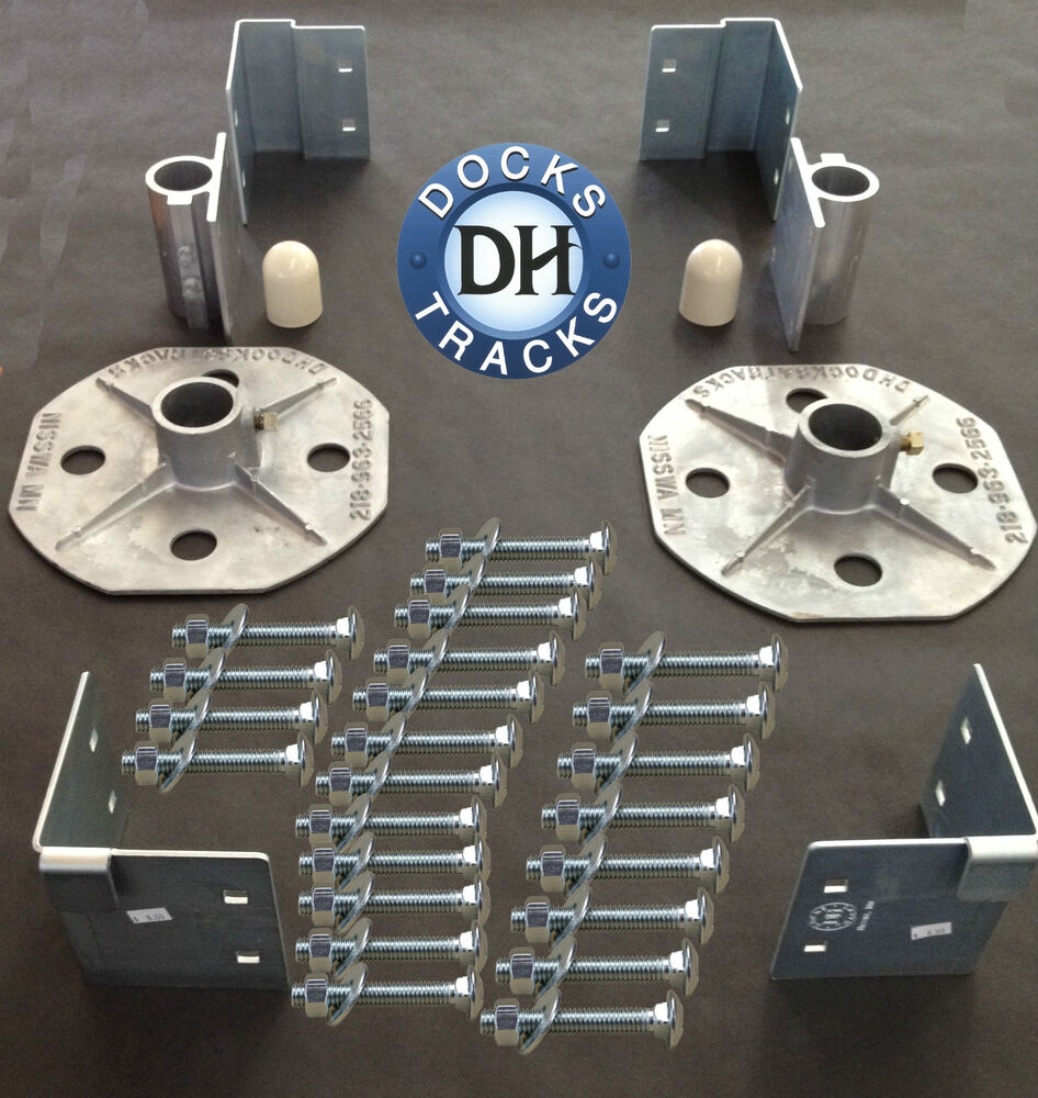 Boat Parts And Supplies : Boat dock hardware kit build a strong or pier ebay