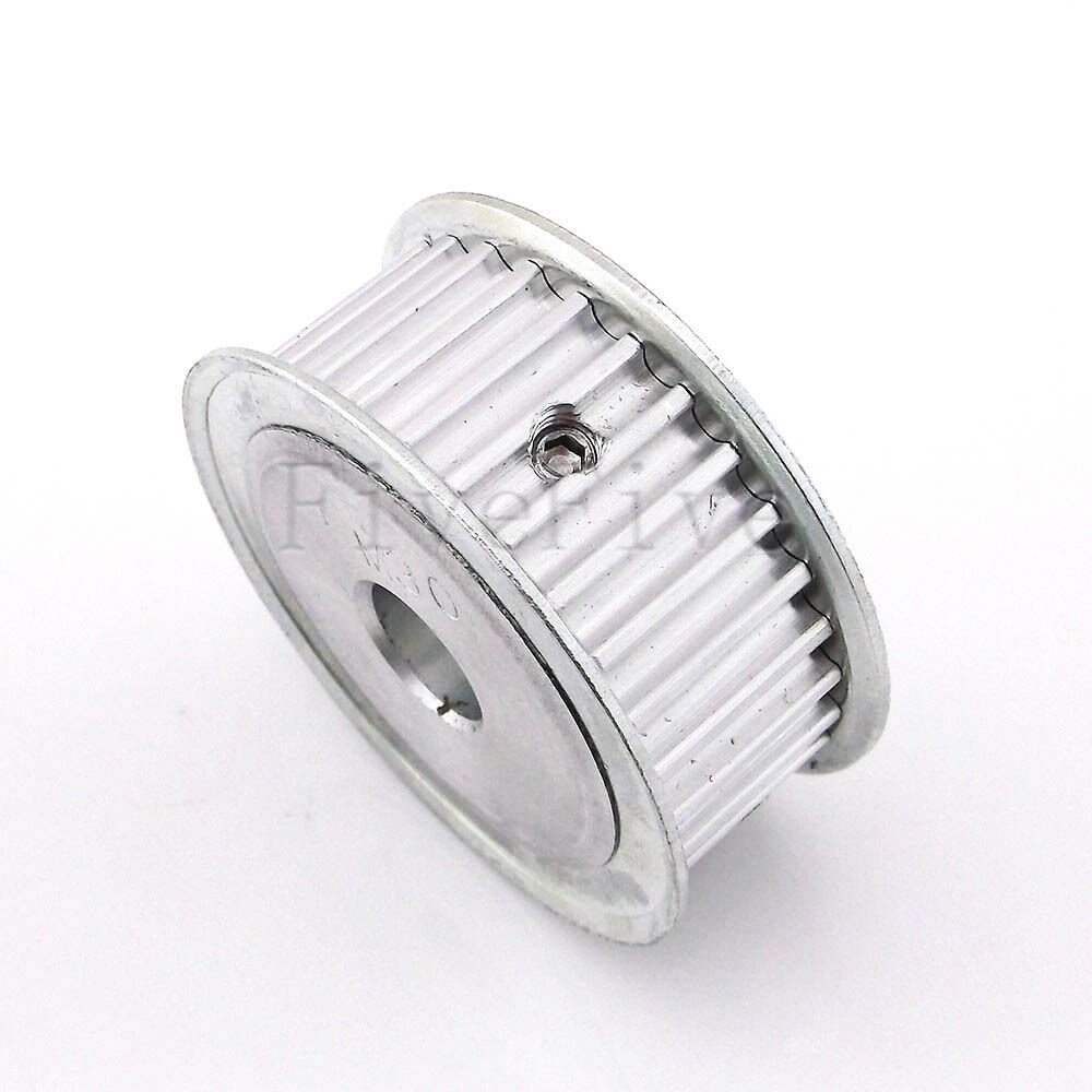Htd 5m 30t 16w 6 635 8 10 12 127 14 17 20mm Bore Pitch 5mm Timing Belt Pulleys Pulley Ebay