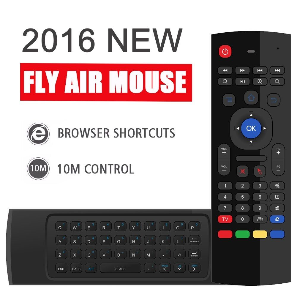 Bluetooth Keyboard For Android Box: MX3 2.4GHz Wireless Keyboard Air Mouse Remote For Android Smart TV BOX Mini PC