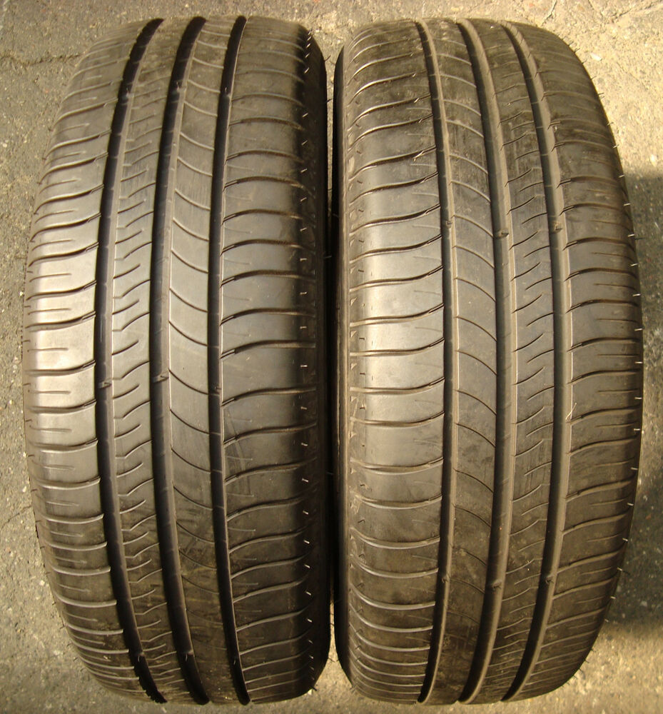 2 summer tires michelin energy saver 205 60 r16 92w summer dot4612 top 6mm ebay. Black Bedroom Furniture Sets. Home Design Ideas