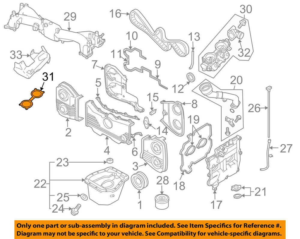 1 8l H 4 Subaru Engine Diagram - Wiring Diagram