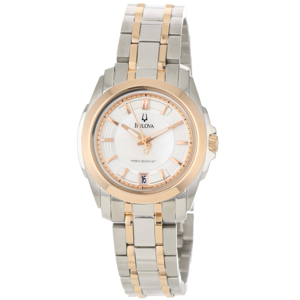 bulova s 98m106 precisionist gold and silver