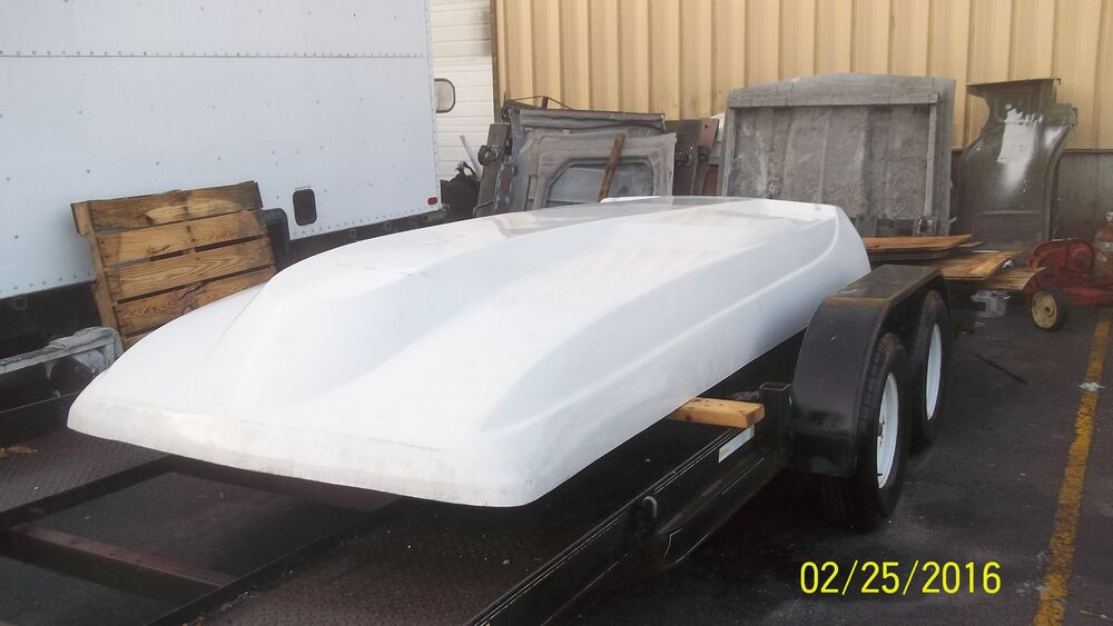 Fiberglass Camper Tops : Fiberglass camper top shell fits newer ford e series