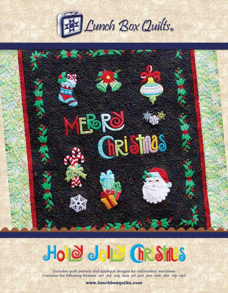 Lunch Box Quilts Embroidery